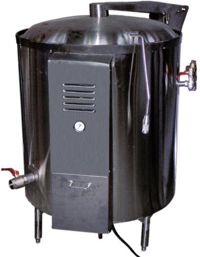 marmita autogeneradora de calor a gas