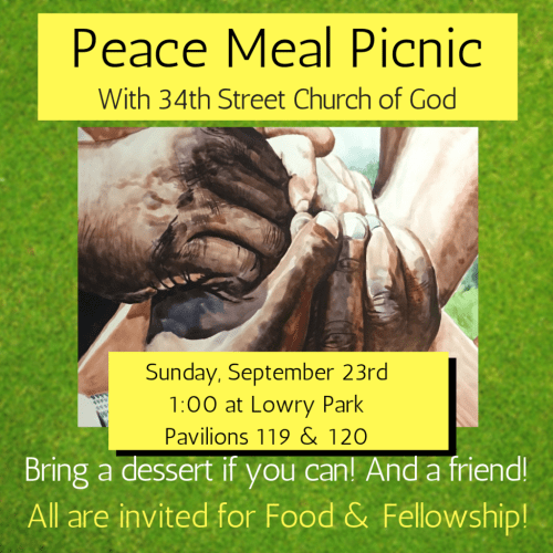 Peace Meal Picnic