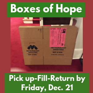 Box of Hope 2018