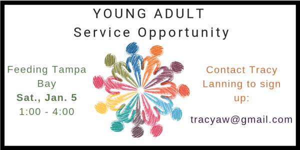 Young Adult Service Opportunity