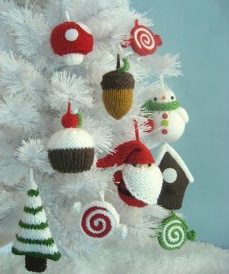 Adornos Navidad Hacer Tu Mismo Ganchillo Palma Centro - Navidad-ganchillo