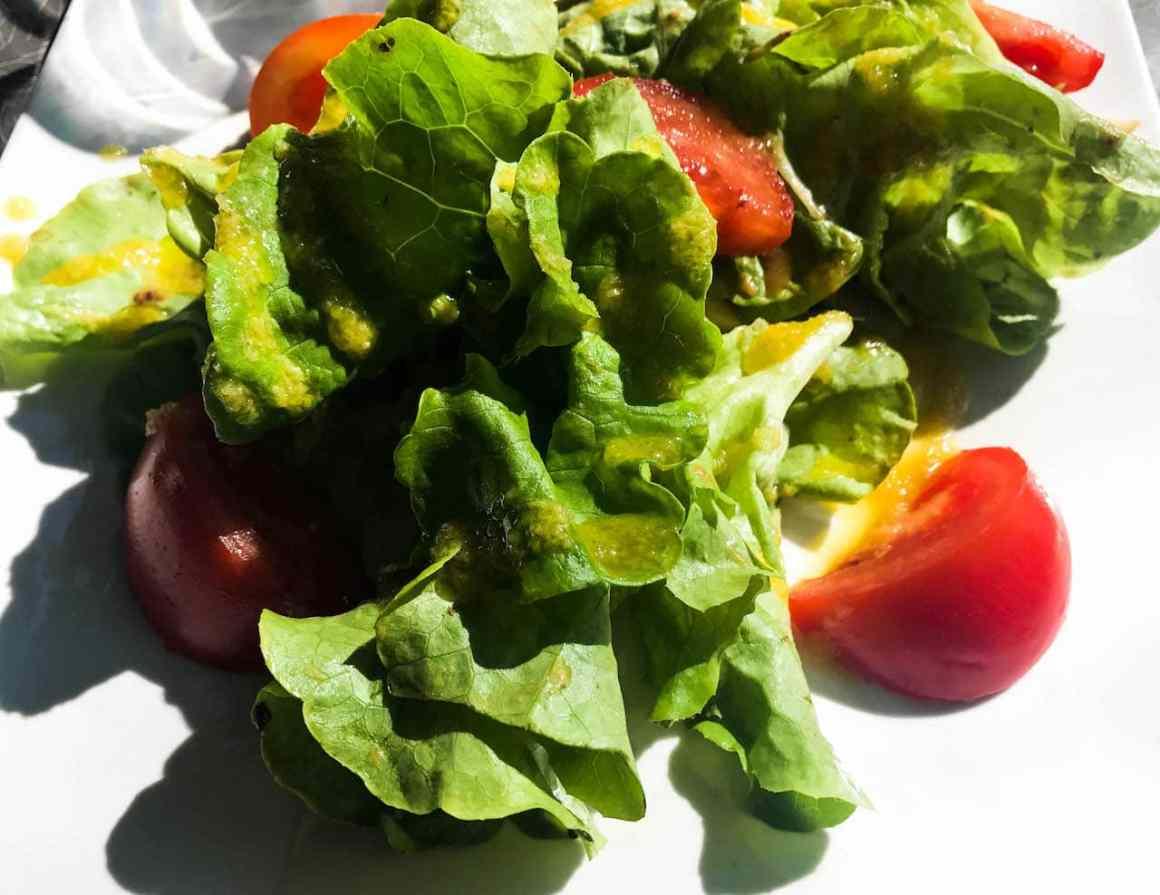 salad in the Southern Rhône Valley