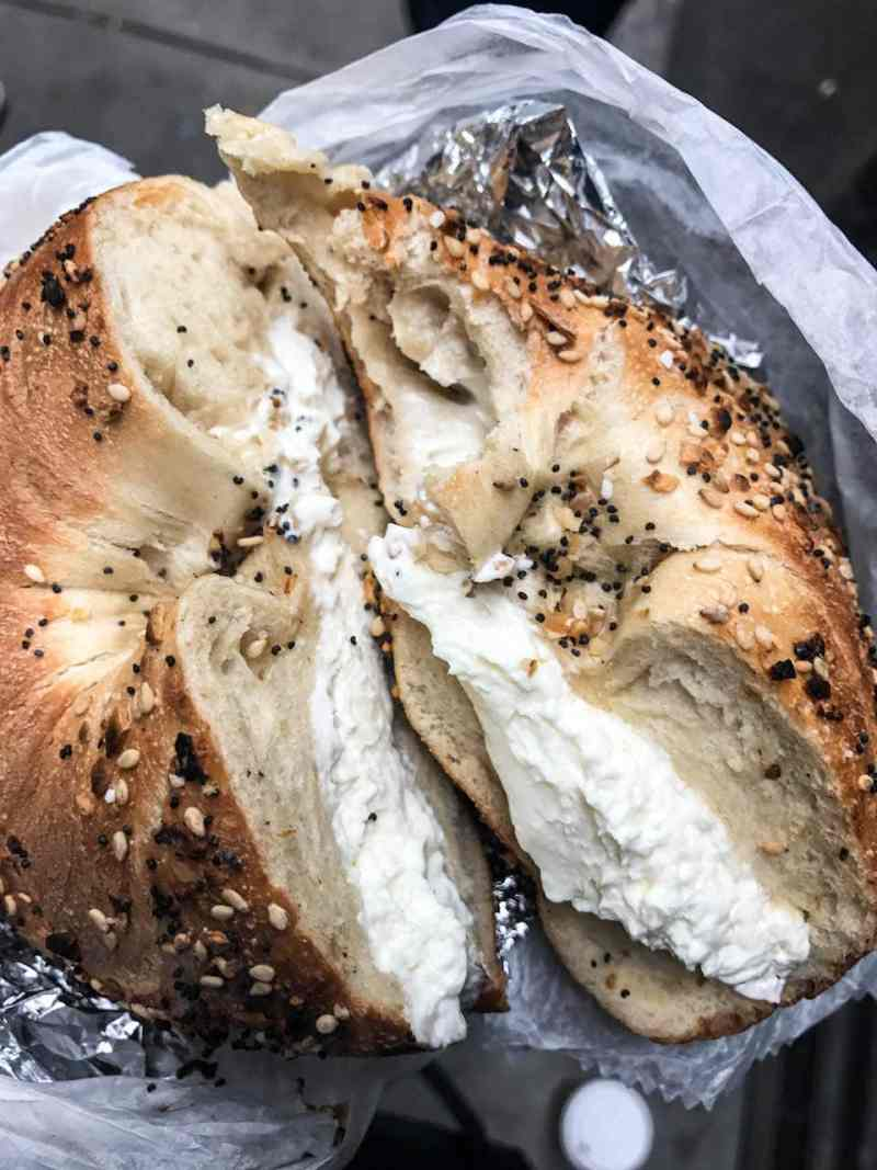 NYC Eats Best Bagel Ever