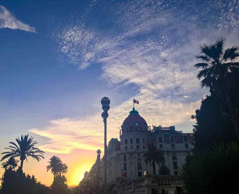Hotel Negresco At Dusk