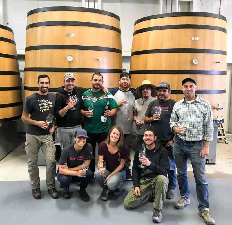 Adelaida's Harvest 2018 Crew