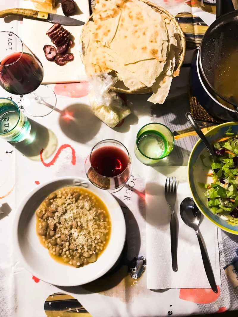 A Sardinian Table