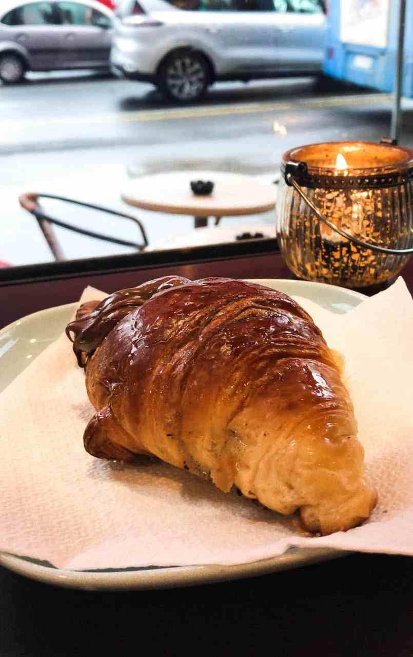 Rome - Nutella Croissant