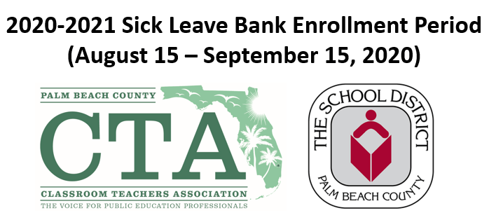 2020-2021 Sick Leave Bank Enrollment Window IS OPEN