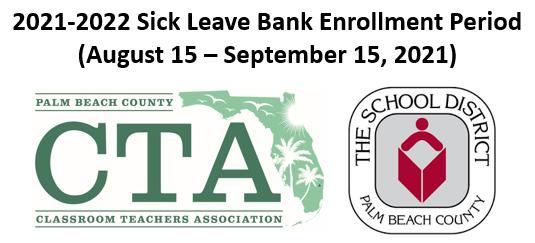 2021-2022 Sick Leave Bank Enrollment Window IS OPEN