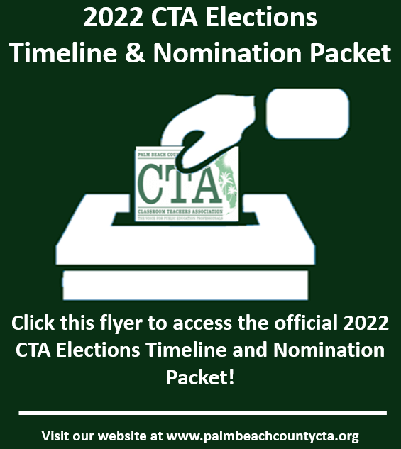 2022 CTA Elections Guidelines and Nomination Forms