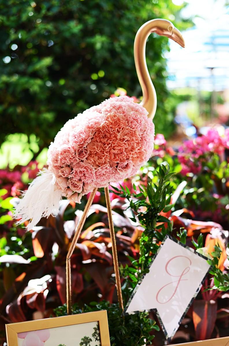 Beths Flamingo Inspired Baby Shower Palm Beach Lately
