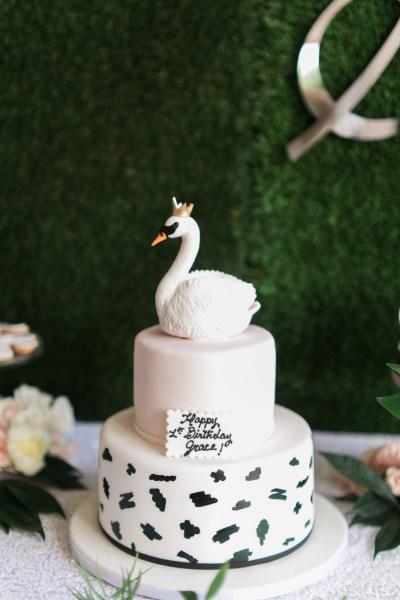 Swan Soirée First Birthday Party | Palm Beach Lately