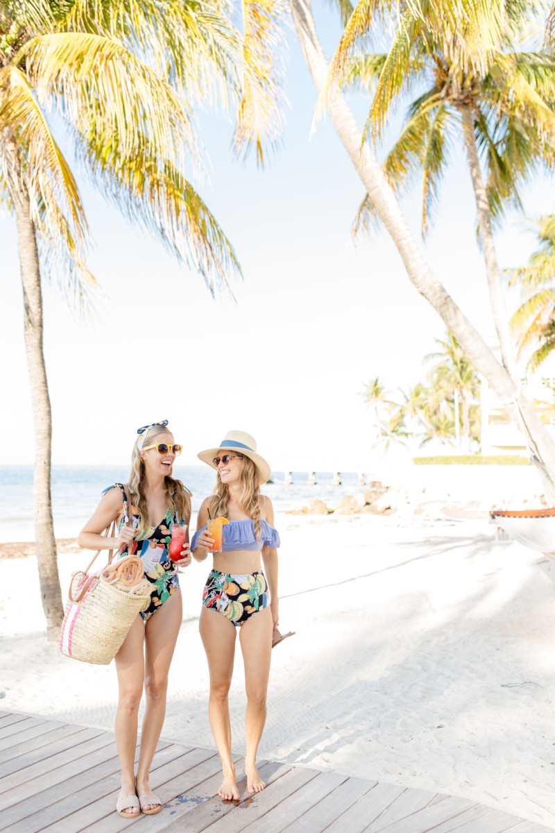 Fashion Swimsuit Postcards From Key West Palm Beach Lately