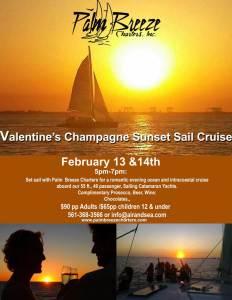 Sunset Champagne Sails
