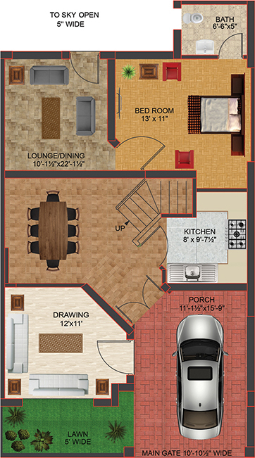 Kitchen Floor Plans Images