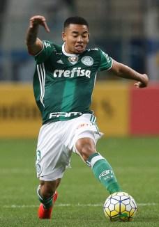 Cesar Greco/Ag.Palmeiras/Divulgação_Gabriel Jesus sofreu pênalti que resultou no gol palmeirense diante do Grêmio