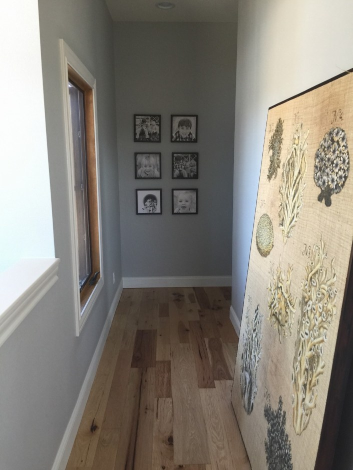 PDD design home upstairs hallway