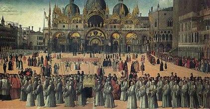 Bellini - Processione in S.Marco