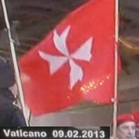 bandiera ufficiale cavalieri malta
