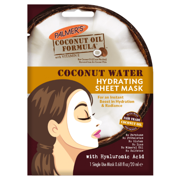 Coconut Water Hydrating Sheet Mask Palmers