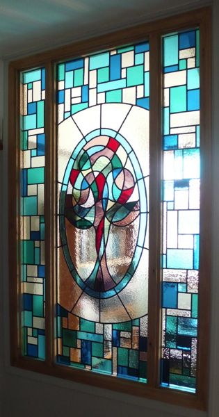 Stunning stained glass by Jane Human
