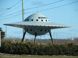 What the flying saucer looked like, probably (image: wikimedia)