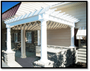 Add a retractable canopy to your exiting pergola structure to make it more functional. Entertain in comfort out of the hot sun.