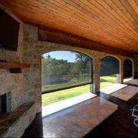 Motorized Clear View Solar Shades keep out sun, heat, glare and insects, but never block a view. At the touch of a button Lake Keowee customers have instant shade with these state of the art Clear View Retractable Screens.