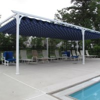 Does your community pool need shade cover for children? Let Palmetto Outdoor Spaces install the Canopy Shade Cover at your home or community pool in Greenville, Spartanburg, Anderson, or Hendersonville, NC.