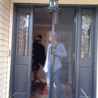 Add a Retractable Screen to your front door entryway to allow cool clean air into your home. Call Palmetto Outdoor Spaces for a free Retractable Screen Quote.