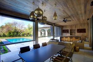 Beautiful Outdoor Living Space Inside View