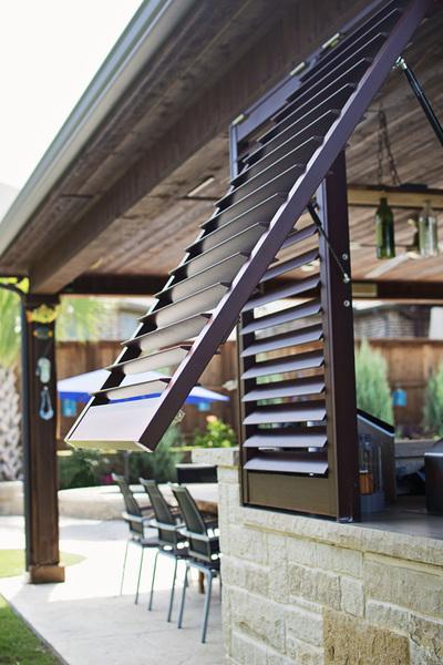 Porch Exterior Shutters Palmetto Window Fashions