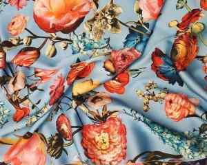 Ткань шелк-армани купить оптом и в розницу недорого в Украине