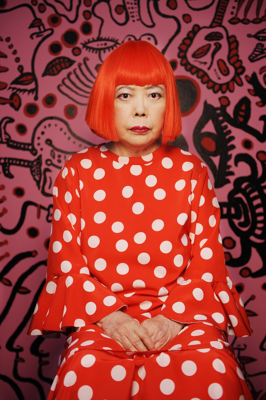 Kusama and the dots