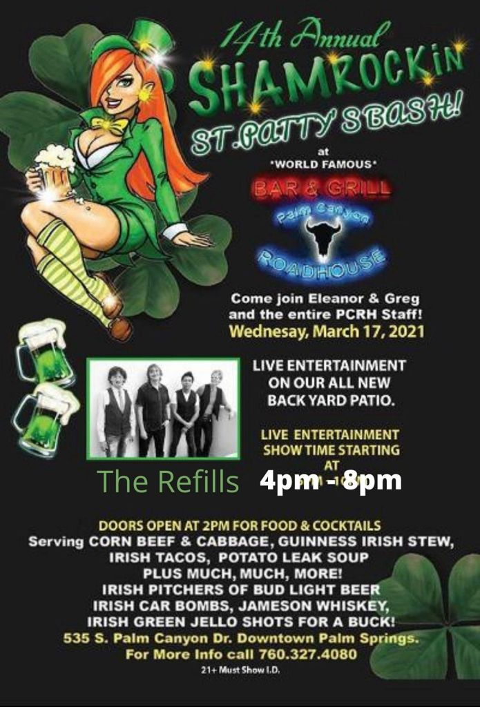 St. Patrick's Day Palm Springs 2021