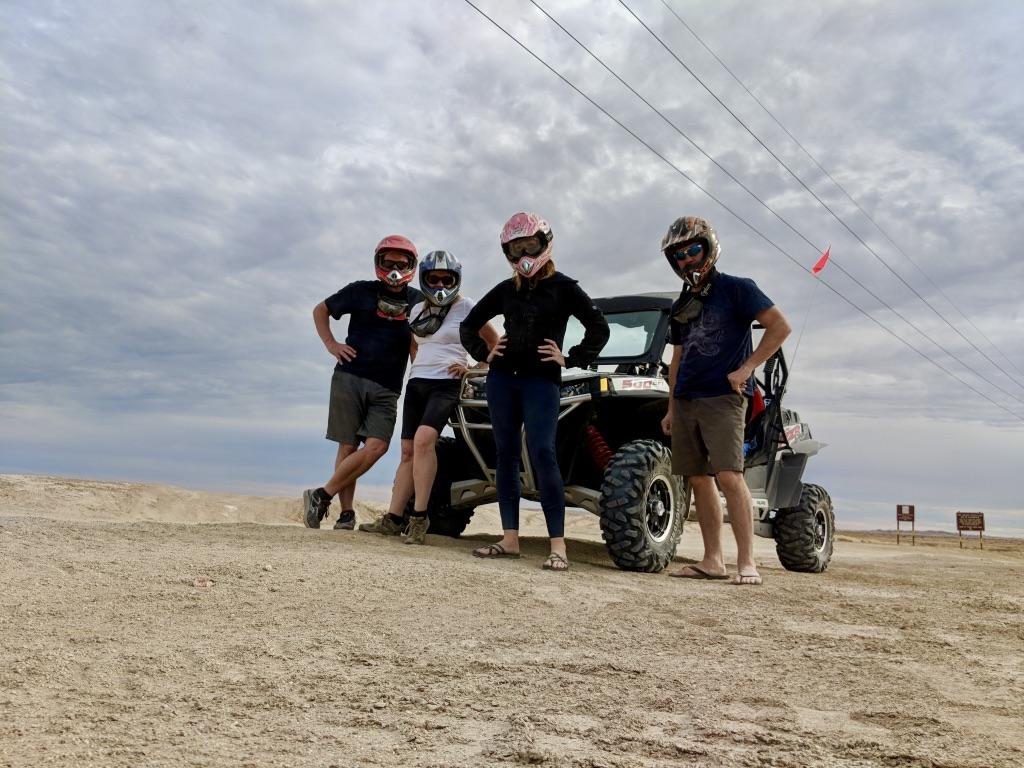 ATV adventure in Ocotillo Wells - Desert Dune Buggy Rental
