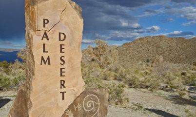 PALM DESERT SIGN