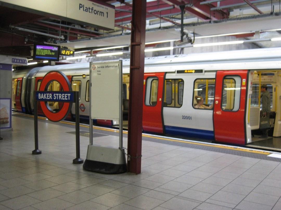 Lontoon Metrossa Palmuasema