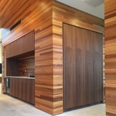Modern Kitchen and Entry Cabinet in Venice California