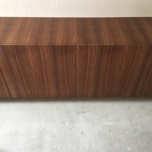 Waterfall Wood, a Veneering method used with Walnut wood