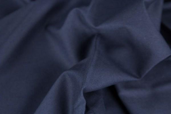 Baumwolle-uni-dunkelblau