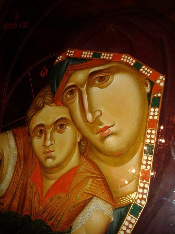 icoana Axion Estin_manastirea paltin Petru Voda_ izvoratoare de mir