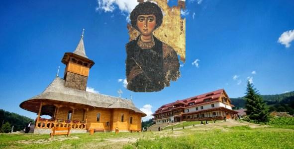 Sf. Pantelimon - Hram la Azilul de batrane de la Manastirea Paltin Petru Voda