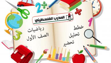 تحليل وتحضير رياضيات الصف الأول الفصل الأول