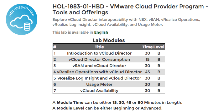 Updated Cloud Provider Program Hands On Lab - Clouds, etc