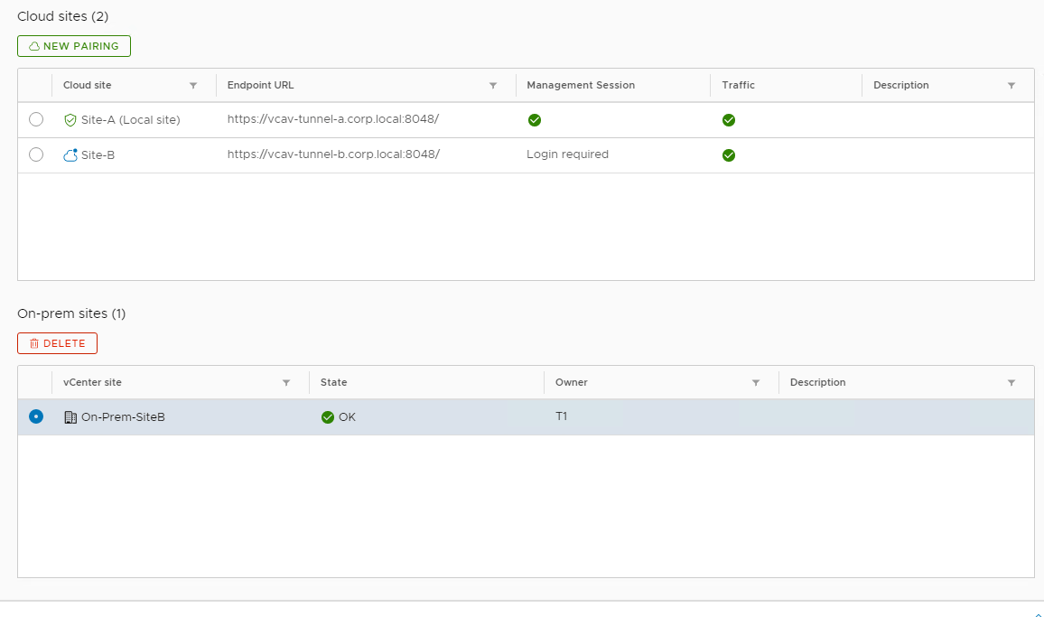 Overview of VMware vCloud Availability 3 0 - Tenant