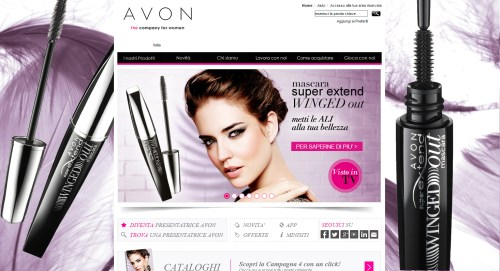 Avon Home Page