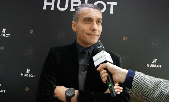 Hublot celebra i 10 anni di All Black