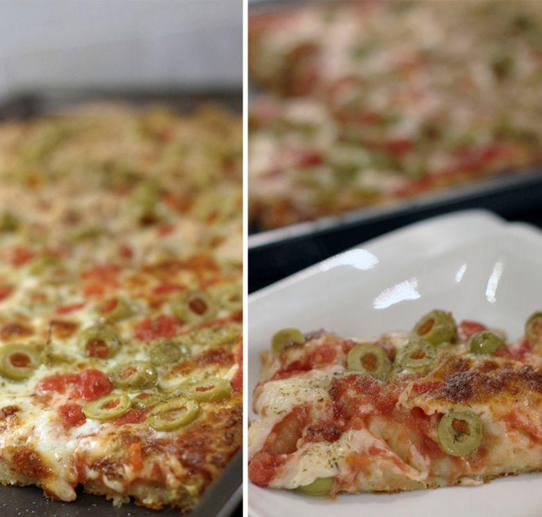 Pizza Estilo Siciliana 4