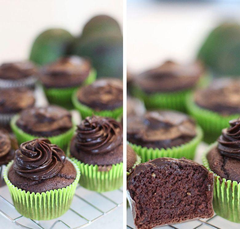 cupcake de abacate 3